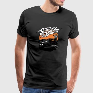 Smokey and the bandit - Aweome comedy movie tee - Men's Premium T-Shirt