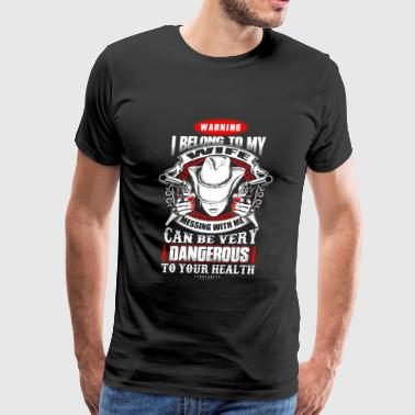 Messing - i belong to my wife, messing w - Men's Premium T-Shirt