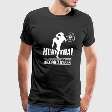 Muay Thai kickboxing T - shirt - Men's Premium T-Shirt