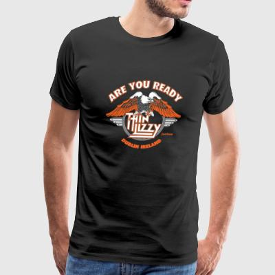 Thin lizzy - Are you ready to rock t-shirt - Men's Premium T-Shirt