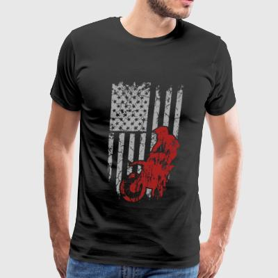 Dirt bike - Awesome t-shirt for american biker - Men's Premium T-Shirt