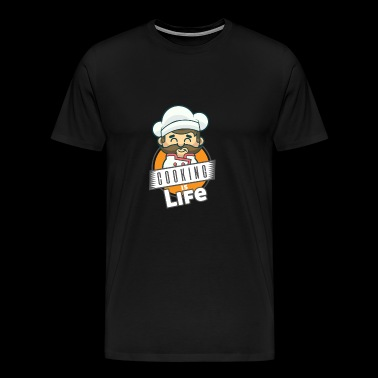 Cooking t-shirt chef hobby - Men's Premium T-Shirt