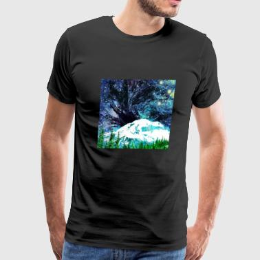 Mt Rainier - Men's Premium T-Shirt