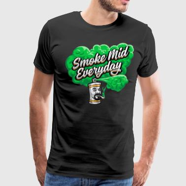 Smoke Mid - Men's Premium T-Shirt