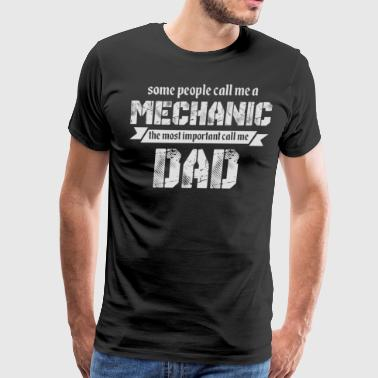 The Most Important Call Me Dad T Shirt - Men's Premium T-Shirt