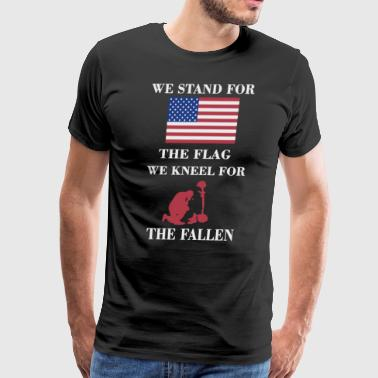 We stand for the flag - Men's Premium T-Shirt