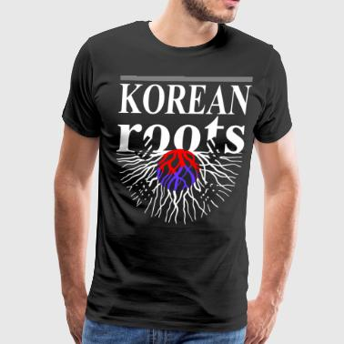 Korean Roots Tshirt - Men's Premium T-Shirt