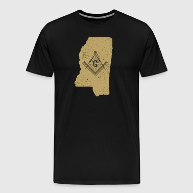 Mississippi Freemason Clothing Masonic Clothing - Men's Premium T-Shirt