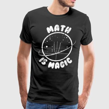Math Is Magic Math Math - Men's Premium T-Shirt