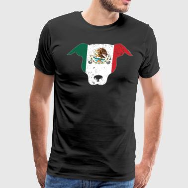 Dog Owner Mexico Flag Shirt Mexican Flag - Men's Premium T-Shirt