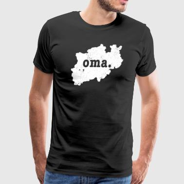 Oma North Rhine Westphalia Germany - Men's Premium T-Shirt