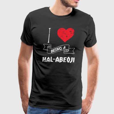 I Love Being A HalAbeoji Korean - Men's Premium T-Shirt