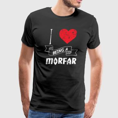 I Love Being A Morfar Swedish - Men's Premium T-Shirt