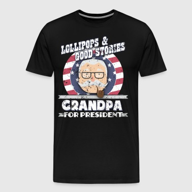Grandpa For President Grandpa Gifts - Men's Premium T-Shirt