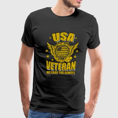 USA VETERAN TSHIRT - Men's Premium T-Shirt