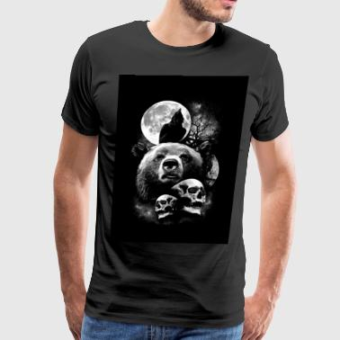 dark of nightmare - Men's Premium T-Shirt