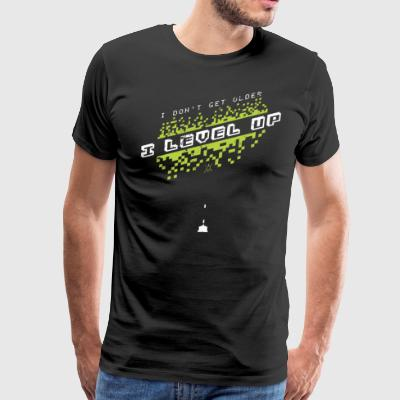 I Dont Get Older I Level Up Funny Gamer Shirt Gamer Dad Shirt - Men's Premium T-Shirt