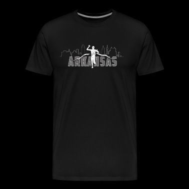 Funny Runner Arkansas Half Marathon Runner Gift - Men's Premium T-Shirt