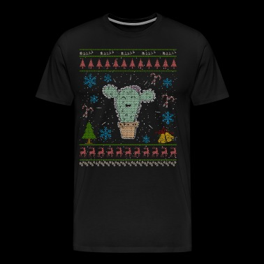 Cactus Shirt Succulent Plants Christmas Ugly Shirt - Men's Premium T-Shirt