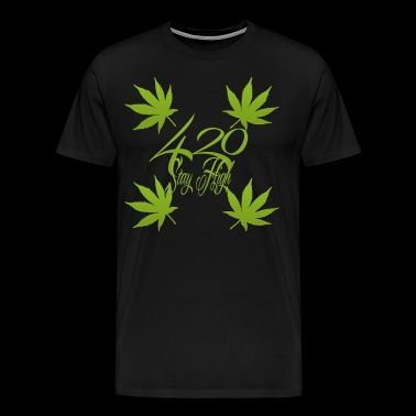 420 Stay High - Men's Premium T-Shirt