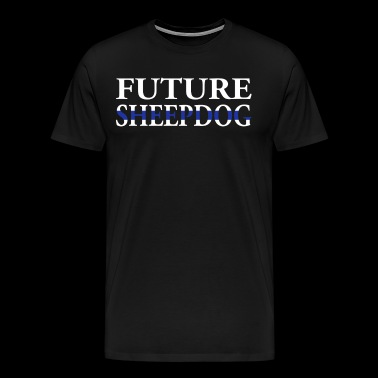 Kids Police Shirt Youth Police Shirt Future Sheepdog - Men's Premium T-Shirt