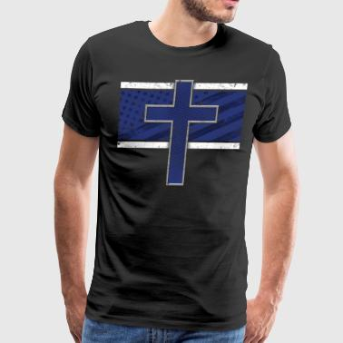 Christian Police Heroes Police Memorial Police Gifts - Men's Premium T-Shirt