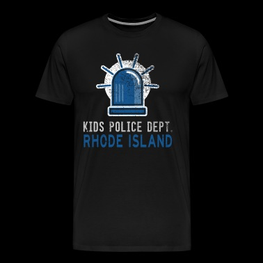 Police Gear For Kids Police For Kids Rhode Island - Men's Premium T-Shirt
