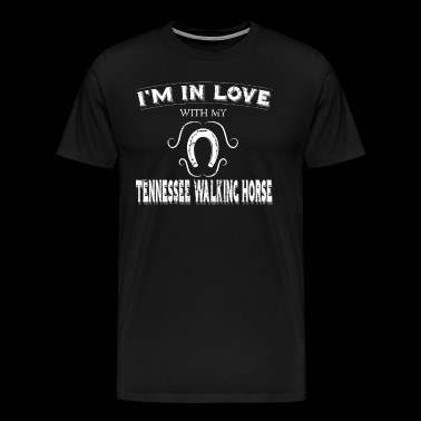 Anti Valintine Love Tennessee Walking Horse - Men's Premium T-Shirt