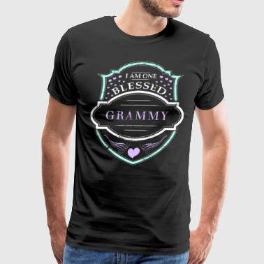 One Blessed Grammy Shirt Grandma Gifts - Men's Premium T-Shirt
