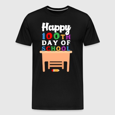 100th Day of School Shirt for Teachers or Students - Men's Premium T-Shirt