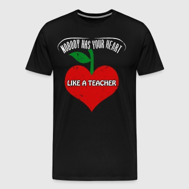 Teacher Valintines Day Shirt Teacher Appreciation - Men's Premium T-Shirt