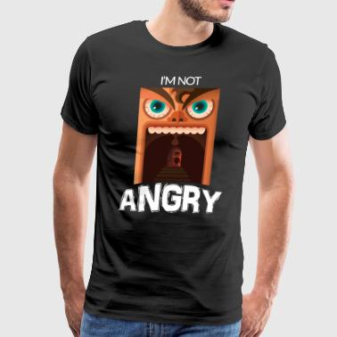 I'm Not Angry! - Men's Premium T-Shirt