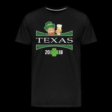 St Patricks Day Clothes Texas St Patricks Day Drink - Men's Premium T-Shirt