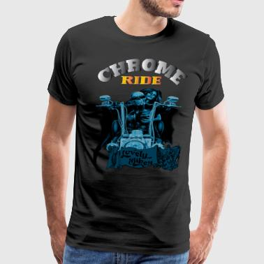 CHROME RIDE - Men's Premium T-Shirt