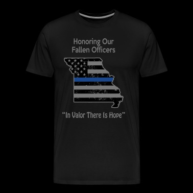 Missouri Police Support The Police Gifts Retired Police - Men's Premium T-Shirt
