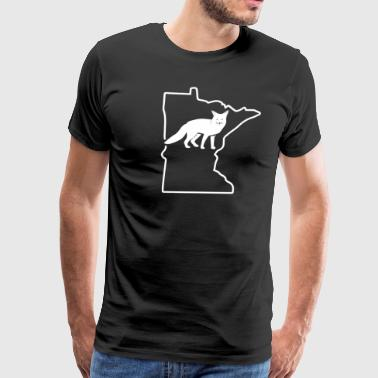 Fox Hunting Attire Minnesota American Foxhound Hunting - Men's Premium T-Shirt