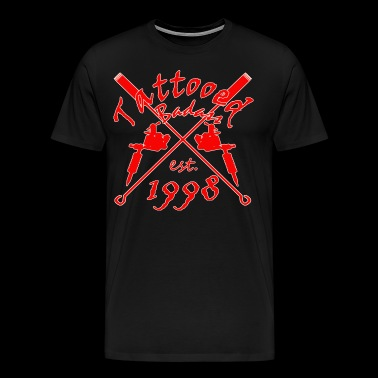 Tattoo Badass year of birth 1998 - Men's Premium T-Shirt