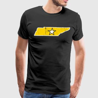Tennessee Army T Shirt Proud Army Dad Proud Army Mom Shirt - Men's Premium T-Shirt