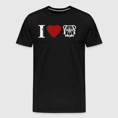 I Love A Marine Marine Wife T Shirt - Men's Premium T-Shirt