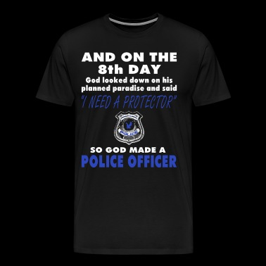 8th Day Police - Men's Premium T-Shirt