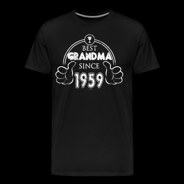 Great Grandma Birthday Best Grandma 1959 - Men's Premium T-Shirt