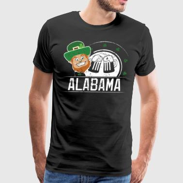 St Pattys Day Alabama St Patricks Party St Patrics Day - Men's Premium T-Shirt