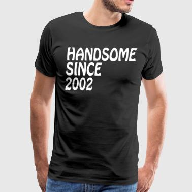 Son Birthday Gifts Shirt Handsome 2002 Birthay - Men's Premium T-Shirt