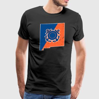 New Mexico Coast Guard Wife Coast Guard Merchandise - Men's Premium T-Shirt