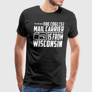 Rural Mail Carrier Wisconsin Retired Letter Carrier - Men's Premium T-Shirt