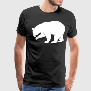 Bear Bow Hunting Black Bear Hunting T Shirt - Men's Premium T-Shirt