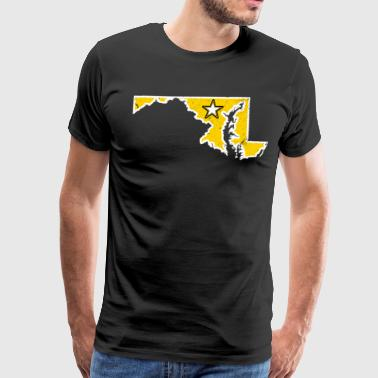 Maryland Army T Shirt Proud Army Dad Proud Army Mom Shirt - Men's Premium T-Shirt