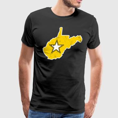 West Virginia Army T Shirt Proud Army WIfe Proud Army Sister - Men's Premium T-Shirt