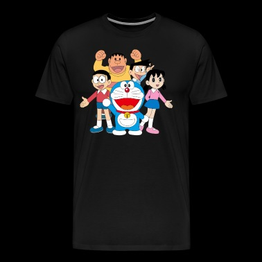 doraemon familly - Men's Premium T-Shirt
