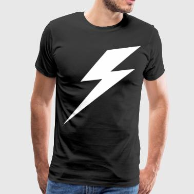 Lightning Print Mens Printed Graphic Hipster Relig - Men's Premium T-Shirt